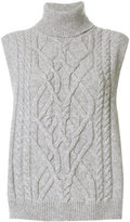 Semi-Couture Semicouture cable knit top