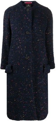 Paul Smith Button-Up Wool Coat