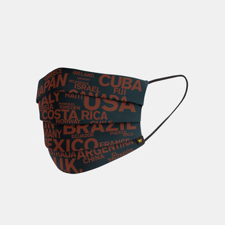 James Perse Y/Osemite Global Graphic Pleated Mask