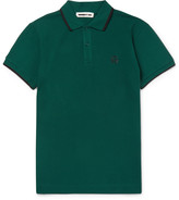 Mcq Alexander Mcqueen - Slim-fit Cotton-piqué Polo Shirt