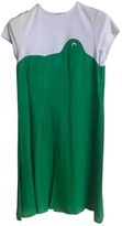 Marine Serre Green Dress for Women