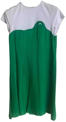 Marine Serre Green Dress for Women