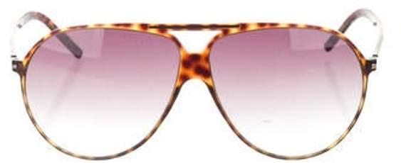 Christian Dior Black Tie Aviator Sunglasses brown Black Tie Aviator Sunglasses