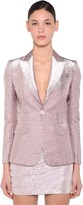DSQUARED2 Lame Single Breast Blazer
