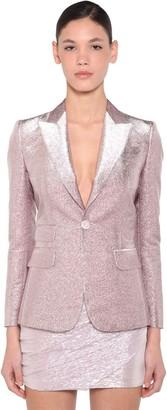 DSQUARED2 Lame Single Breast Blazer