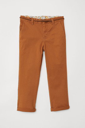 H&M Chinos with Belt