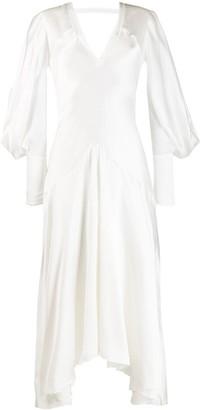Roksanda Asymmetric Hem Dress