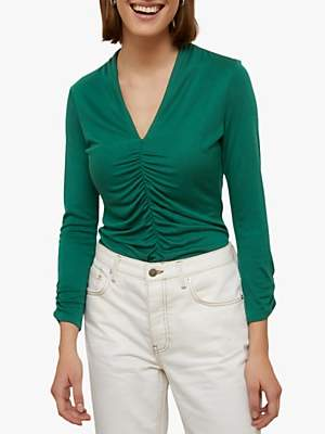 Jigsaw V-Neck Jersey Top