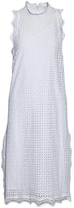 IRO Scalloped Broderie Anglaise Cotton Midi Dress
