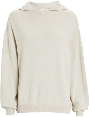 IRO Tiago Hooded Cotton-Cashmere Sweater