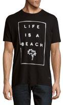 Kinetix Life is a Beach Crewneck Tee