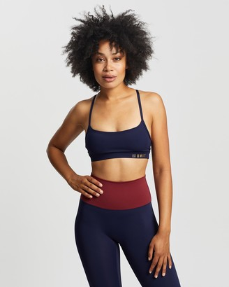 Unit Women's Crop Tops - Tempo Strap Sports Bra - Size One Size, 8 at The Iconic