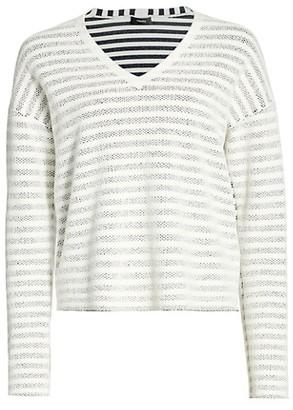 Theory Veil Striped Sweater
