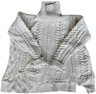 Celine Beige Wool Knitwear for Women