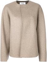 Chalayan single button shell jacket