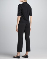 Eileen Fisher Organic Cotton Slim Ankle Pants, Petite
