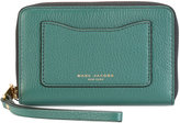 Marc Jacobs Recruit zip phone wristlet purse - women - Leather - One Size