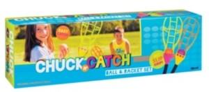 Toysmith Chuck N' Catch Ball Racket Set