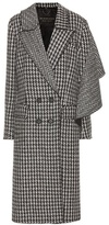 Burberry Houndstooth wool coat