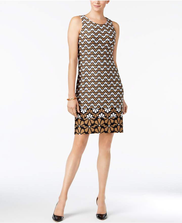 Charter Club Printed Sleeveless Dress, Created for Macy's
