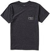 O'Neill Worker Short-Sleeve Heathered Crewneck Pocket Tee
