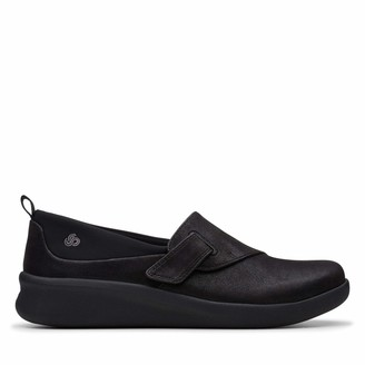 Clarks Sillian2.0ease Womens Loafers Black (Black Synthetic Black Synthetic) 5.5 UK (39 EU)