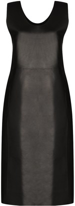 Totême Mezel leather dress