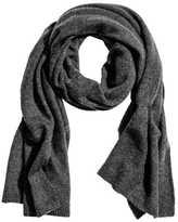 H&M Cashmere Scarf - Dark gray melange - Ladies