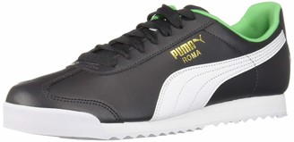 Puma Men's Roma Basic Sneaker Asphalt White 4.5 M US