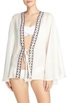Hinge Women's Tie Front Cover-Up