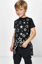 Boohoo Boys Star Print Tee
