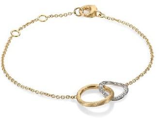 Marco Bicego Jaipur Link Diamond & 18K Yellow Gold Bracelet