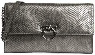 Rebecca Minkoff Jean Textured Leather Convertible Clutch