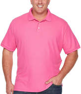 THE FOUNDRY SUPPLY CO. The Foundry Big & Tall Supply Co. Easy Care Quick Dry Short Sleeve Knit Polo Shirt Big and Tall