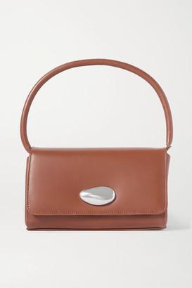Little Liffner Baguette Small Leather Shoulder Bag - Brown