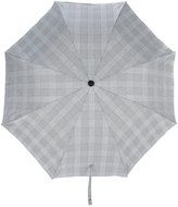 Alexander McQueen plaid umbrella