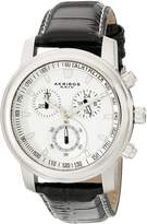 Akribos XXIV Men's AKR443SS Ultimate Quartz Chronograph Dial Watch