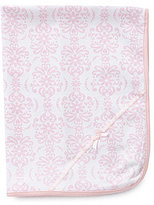 Little Me Damask Scroll Blanket