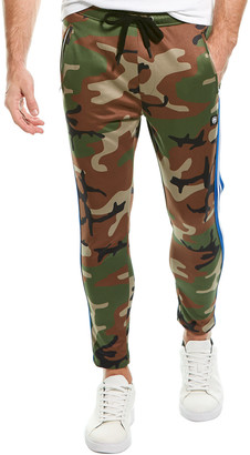 Ron Tomson Side-Striped Camo Pant