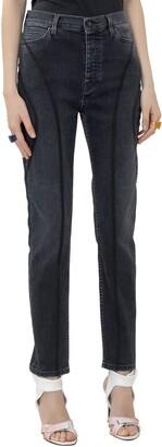 Marcelo Burlon County of Milan High Waist Skinny Jeans