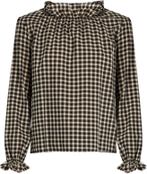 MiH Jeans Sandy gingham cotton top