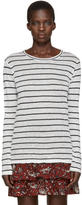 Etoile Isabel Marant Off-White Striped Aaron T-Shirt