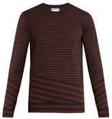 Wooyoungmi Striped cotton-blend sweater