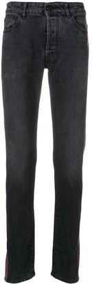 Marcelo Burlon County of Milan Side-Stripe Skinny Jeans
