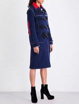 Altuzarra Gardano button-detail wool duffle coat