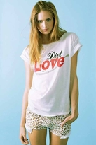 Sauce Diet Love Baggy Tee in White