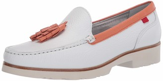 Marc Joseph New York Women's Leather Made in Brazil Lightweight Tassle Loafer
