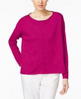 Eileen Fisher Linen-Cotton Sweater, Regular & Petite