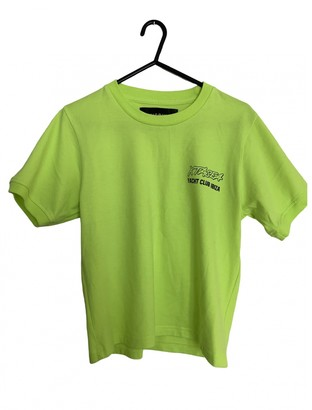 Misbhv Yellow Cotton Tops