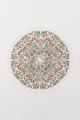 H&M Round cotton tablecloth